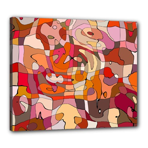 Abstract Abstraction Pattern Moder Canvas 24  X 20  by Amaryn4rt