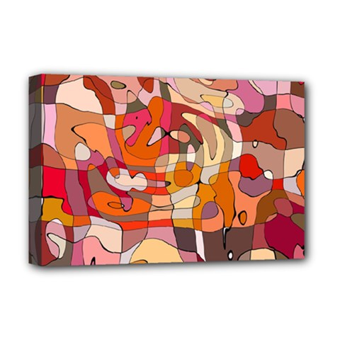 Abstract Abstraction Pattern Moder Deluxe Canvas 18  X 12