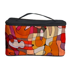 Abstract Abstraction Pattern Moder Cosmetic Storage Case by Amaryn4rt
