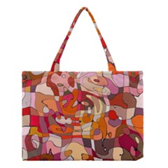 Abstract Abstraction Pattern Moder Medium Tote Bag by Amaryn4rt