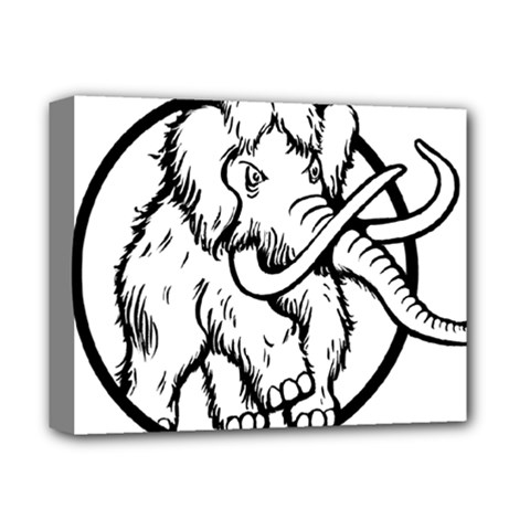 Mammoth Elephant Strong Deluxe Canvas 14  X 11  by Amaryn4rt