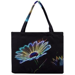 Flower Pattern Design Abstract Background Mini Tote Bag