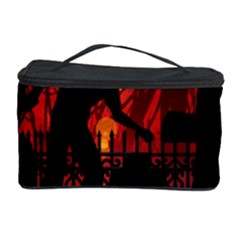 Horror Zombie Ghosts Creepy Cosmetic Storage Case by Amaryn4rt