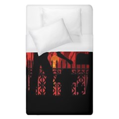 Horror Zombie Ghosts Creepy Duvet Cover (single Size) by Amaryn4rt
