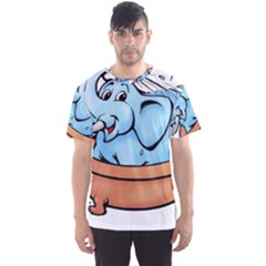 Elephant Bad Shower Men s Sport Mesh Tee