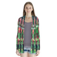 Paper Background Color Graphics Cardigans by Amaryn4rt
