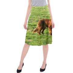 Irish Setter Full 2 Midi Beach Skirt by TailWags