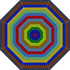 Pattern Background Golf Umbrellas
