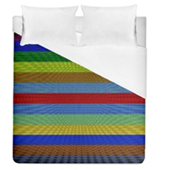 Pattern Background Duvet Cover (queen Size) by Amaryn4rt