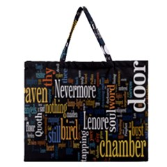 Showing Picture Resolutions Zipper Large Tote Bag by AnjaniArt