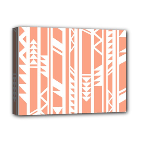 Tribal Pattern Deluxe Canvas 16  X 12   by AnjaniArt