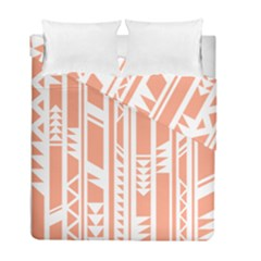 Tribal Pattern Duvet Cover Double Side (full/ Double Size) by AnjaniArt