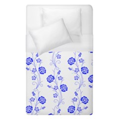 Vertical Floral Duvet Cover (Single Size)