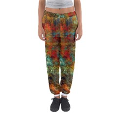 Mixed Abstract Women s Jogger Sweatpants by theunrulyartist