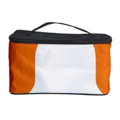 Bell Orange Copy Cosmetic Storage Case by Jojostore