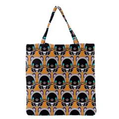 Cute Panda Grocery Tote Bag