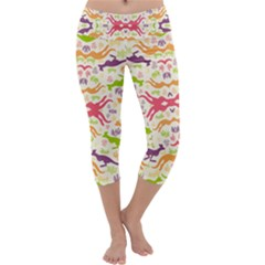 Kangaroo Capri Yoga Leggings