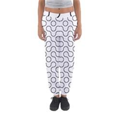 Truchet Tiling Women s Jogger Sweatpants by Jojostore