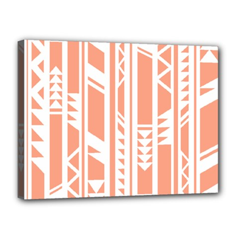 Tribal Pattern Canvas 16  X 12  by Jojostore