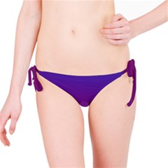 Purple Orange Blue Bikini Bottom
