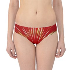 Color Gold Yellow Background Hipster Bikini Bottoms