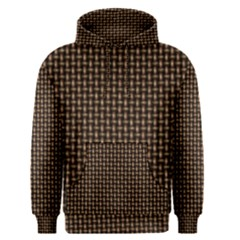 Fabric Pattern Texture Background Men s Pullover Hoodie