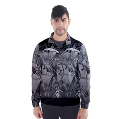 Kringel Circle Flowers Butterfly Wind Breaker (men)