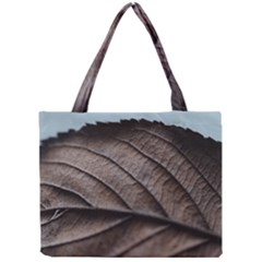 Leaf Veins Nerves Macro Closeup Mini Tote Bag
