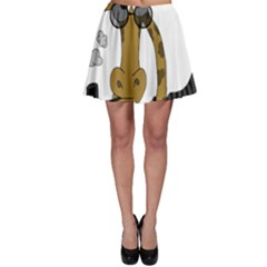 Mr  Elegance Skater Skirt by Valentinaart
