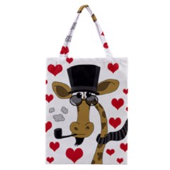 Mr  Right Classic Tote Bag by Valentinaart