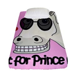 Don t Wait For Prince Charming Fitted Sheet (single Size) by Valentinaart