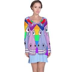 Unicorn Love Long Sleeve Nightdress