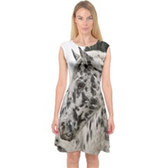 Appaloosa Capsleeve Midi Dress by TailWags