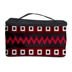 Asterey Red Pattern Cosmetic Storage Case by Jojostore