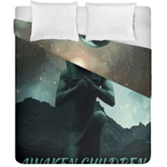 Hourus Duvet Cover Double Side (California King Size) by MICHAELPHARAOH
