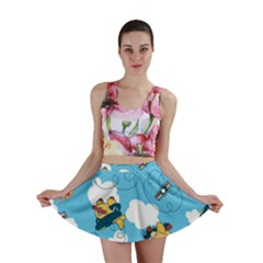 Bear Aircraft Mini Skirt by Jojostore