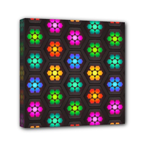 Pattern Background Colorful Design Mini Canvas 6  x 6