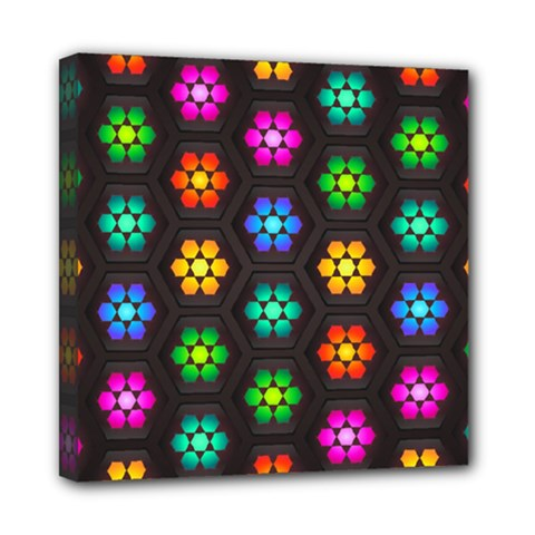 Pattern Background Colorful Design Mini Canvas 8  x 8