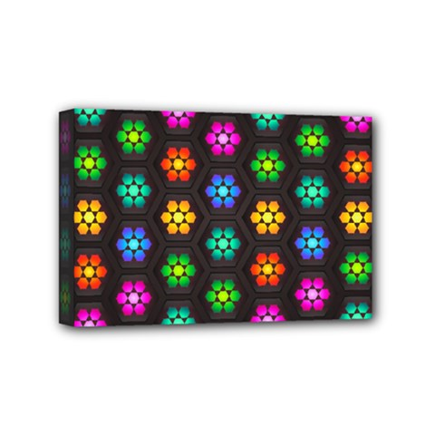 Pattern Background Colorful Design Mini Canvas 6  x 4