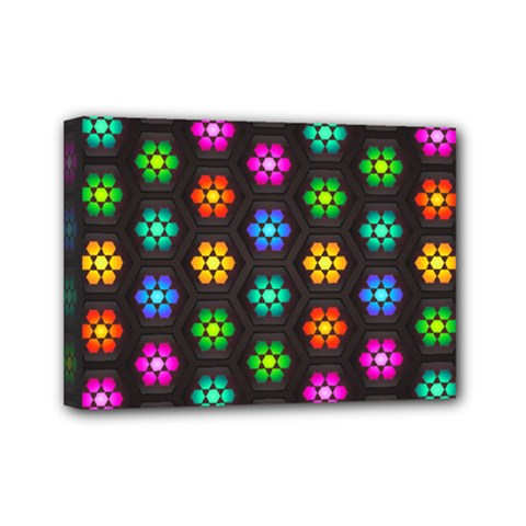 Pattern Background Colorful Design Mini Canvas 7  x 5