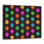 Pattern Background Colorful Design Canvas 24  x 20