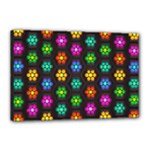 Pattern Background Colorful Design Canvas 18  x 12