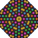 Pattern Background Colorful Design Folding Umbrellas