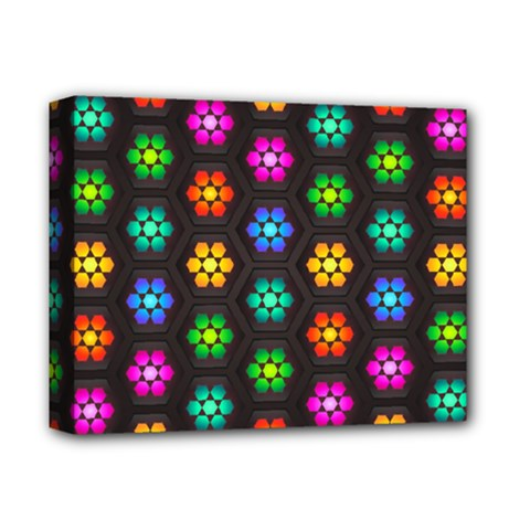 Pattern Background Colorful Design Deluxe Canvas 14  x 11