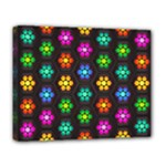 Pattern Background Colorful Design Deluxe Canvas 20  x 16