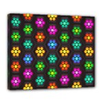 Pattern Background Colorful Design Deluxe Canvas 24  x 20