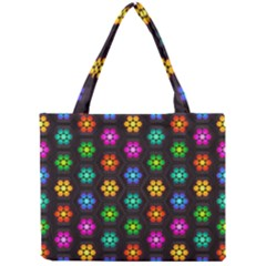 Pattern Background Colorful Design Mini Tote Bag