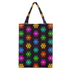 Pattern Background Colorful Design Classic Tote Bag