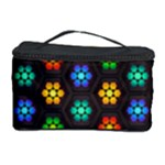 Pattern Background Colorful Design Cosmetic Storage Case