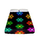 Pattern Background Colorful Design Fitted Sheet (Full/ Double Size)